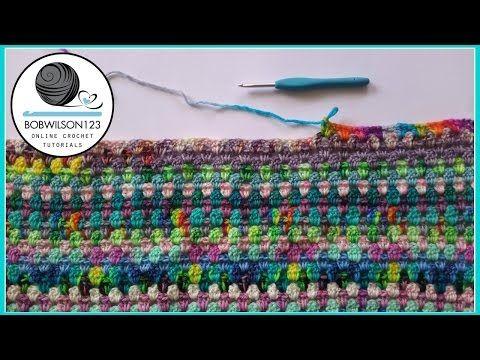Crocodile Stitch Shawl Crochet Tutorial - How to start - YouTube ...