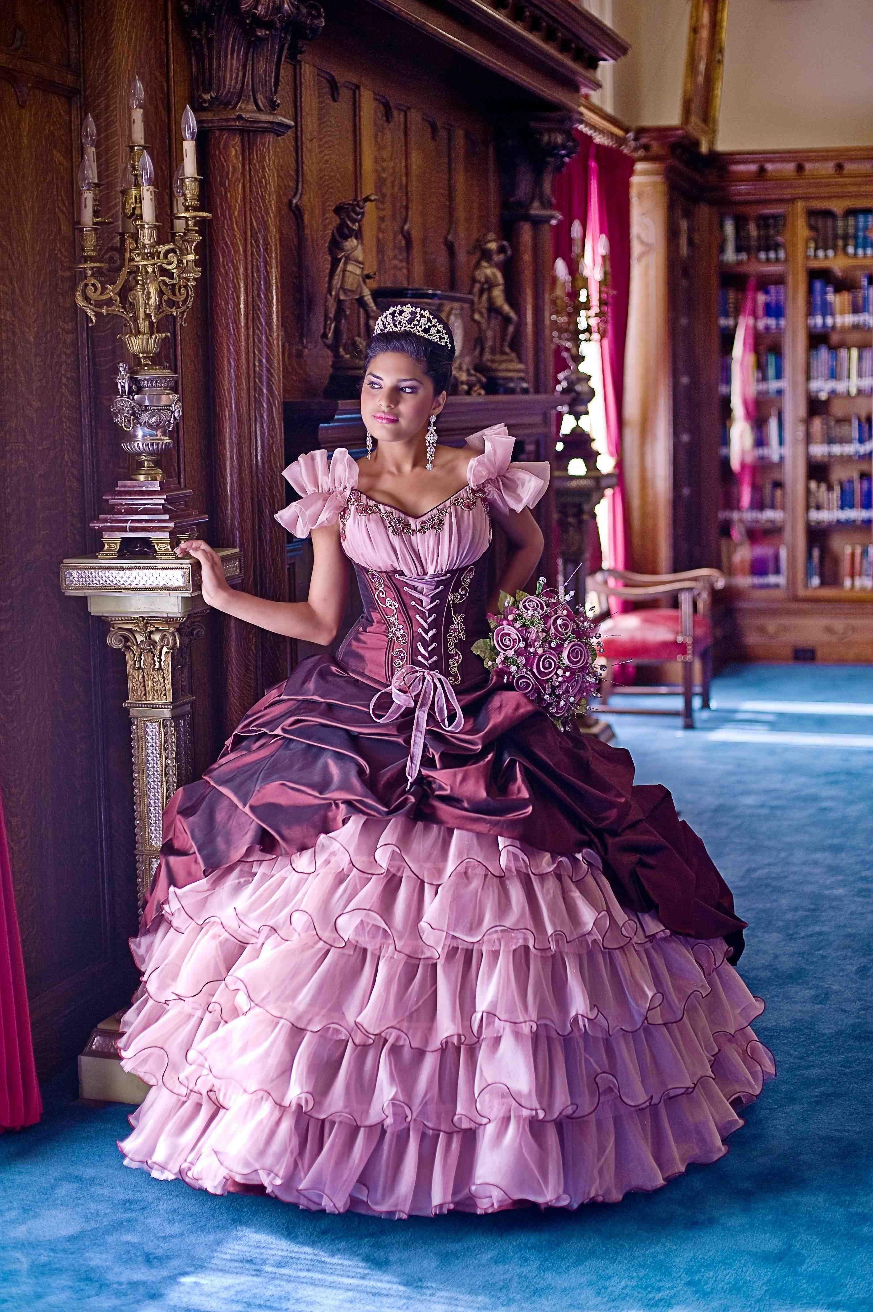 Purple Quince Dresses   azul   Pinterest   Quince dresses, Ball ...