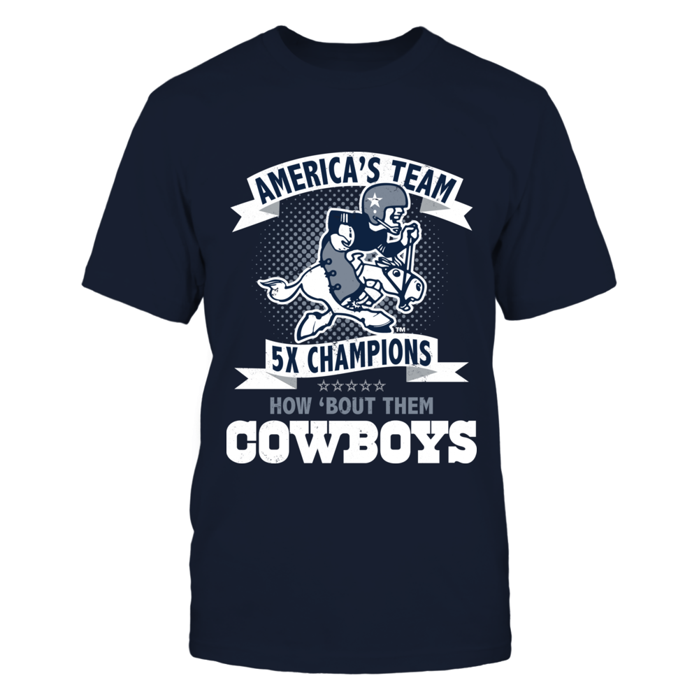 5def610b Dallas Cowboys - America's Team How 'Bout Them Cowboys | Licensed T ...