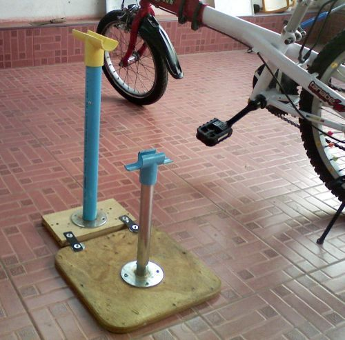 19faf7c07 Bicycle Stand Homemade
