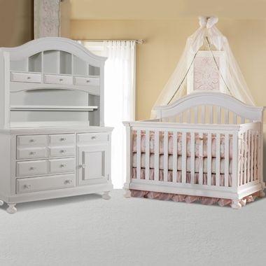 f4b0032b107 Creations Baby 3 Piece Nursery Set - Summer s Evening Convertible Crib