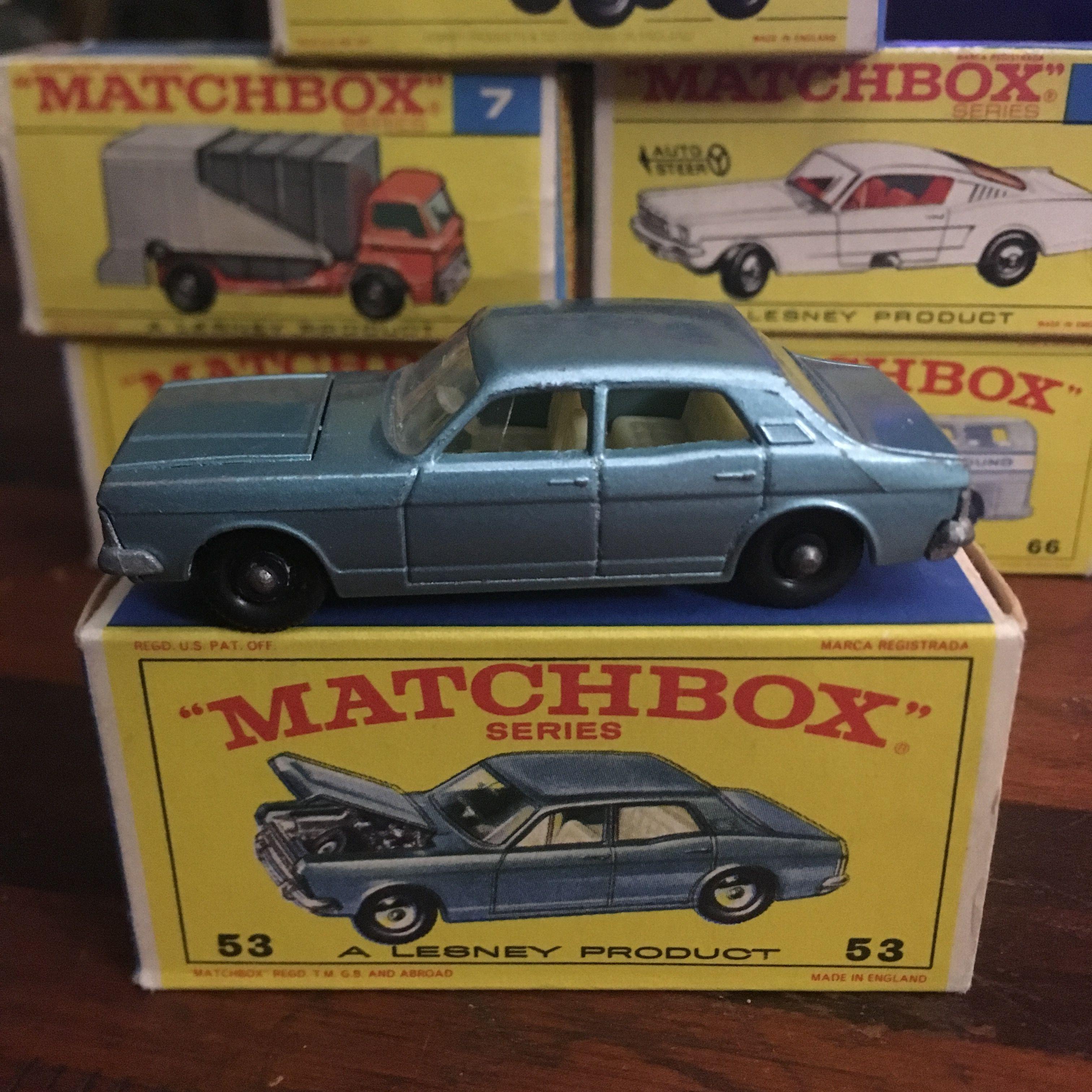 53 Ford Zodiac Mk Iv Toy Model Cars Matchbox Cars Miniature Cars