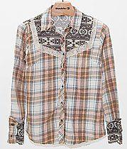 Gimmicks by BKE Plaid Shirt