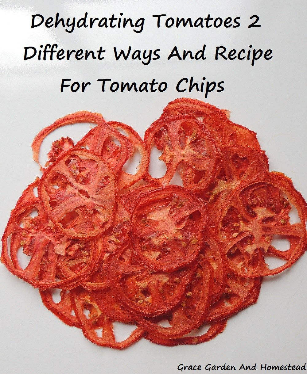 Step By How To Dehydrate Tomatoes Two Diffe Ways Plus