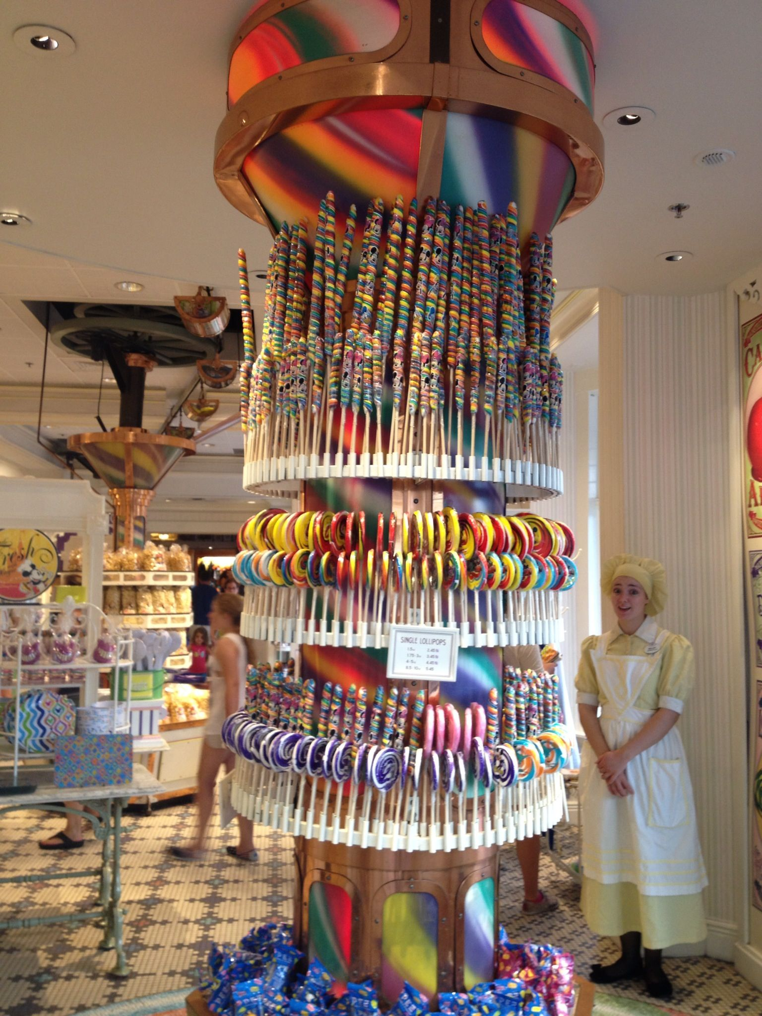 Retail Space/Display Ideas Disney candy store | a r c h ...