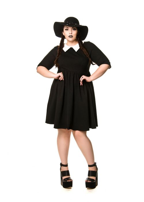 Domino Dollhouse - Plus Size Clothing: Wednesday Dress … | Costumes ...