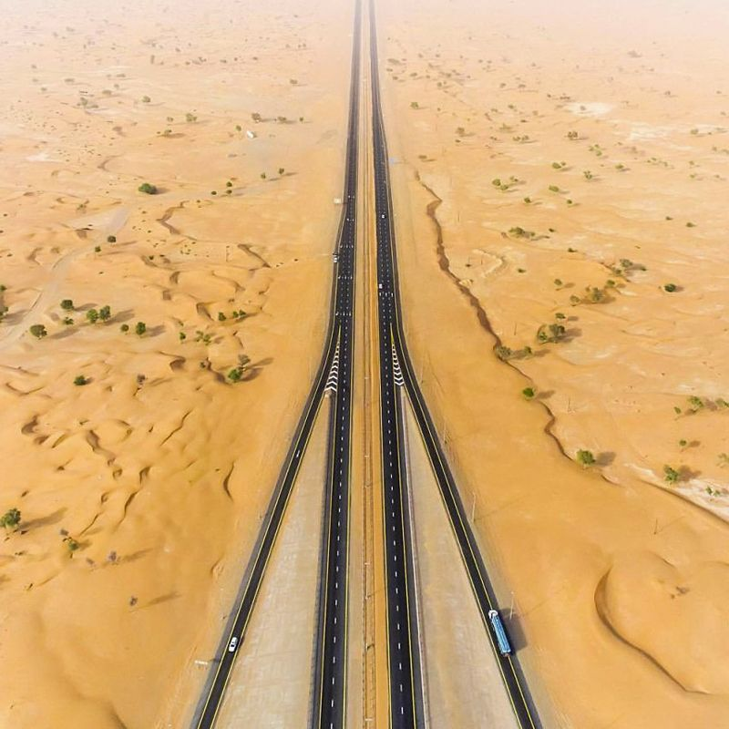 The UAE Has One Of The Best Road Networks Globally. The