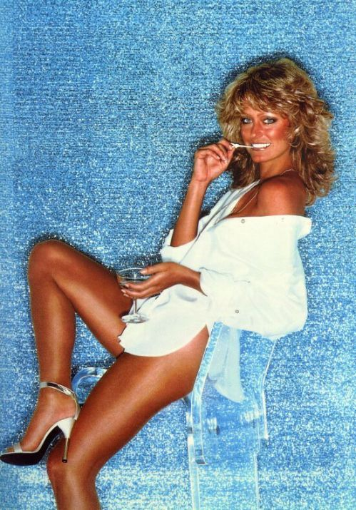 Image result for hot farrah fawcett