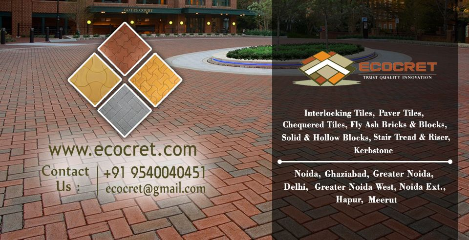 Ecocret Is The Largest Suppliers Of Precast Boundary Wall And Paver Tiles In Noida Extension
