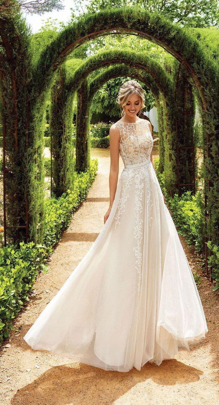 Wedding Dressforbraid In 2020 Simple Wedding Gowns Wedding Dresses Vintage Wedding Dresses With Flowers