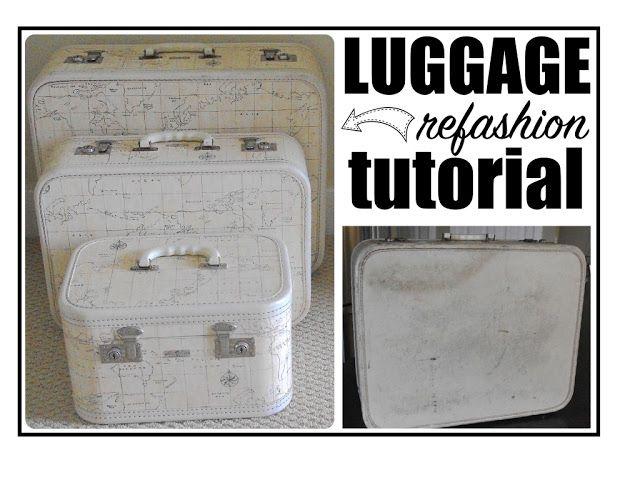 "Creative ""Try""als: Luggage Refashion Tutorial"