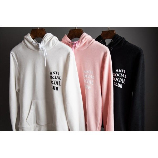 d65f27016fcc Anti Social Social Club Pouch Hoodie! Color Options!  streetwearvilla   fashion  ASSC  Hoodie