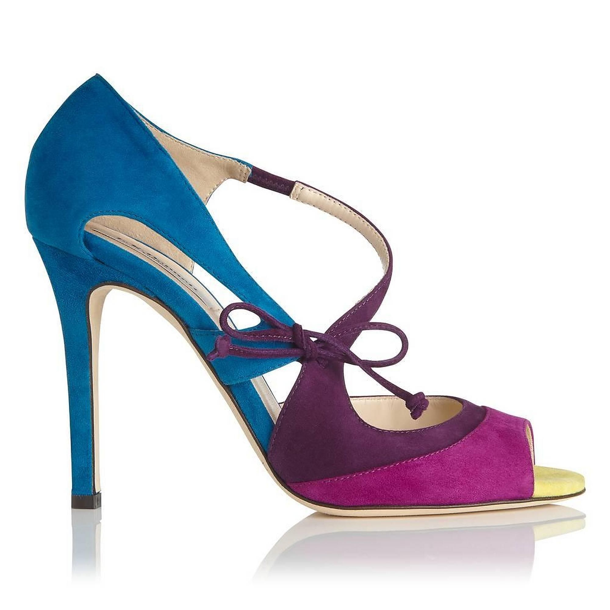 Lucile Raisin Orchid Suede Formal Sandals   Shoes   Collections   L.K.Bennett, London
