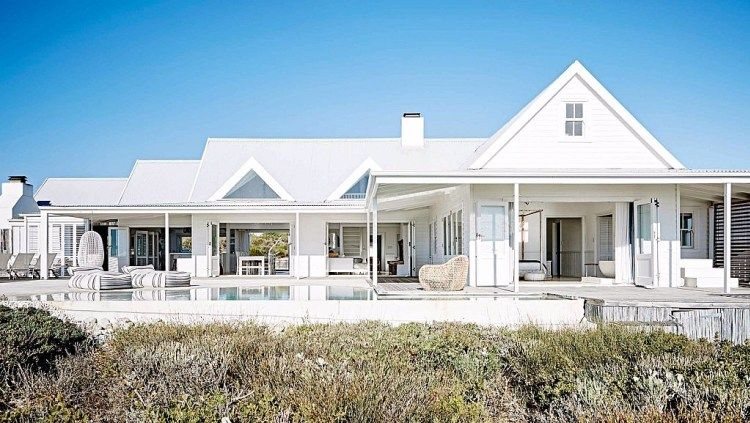 A Coastal South African Home Tour | Indoor outdoor, Coastal and ...