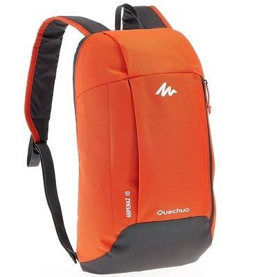 Quechua Arpenaz 10 Backpack Red Grey Decathlon Singapore Small Travel Bag Outdoor Backpacks Backpacks