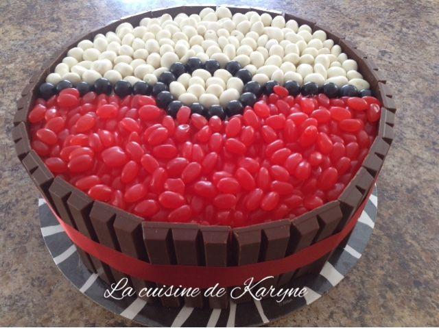 la cuisine de karyne: gâteau pokéball | anniversaire | pinterest