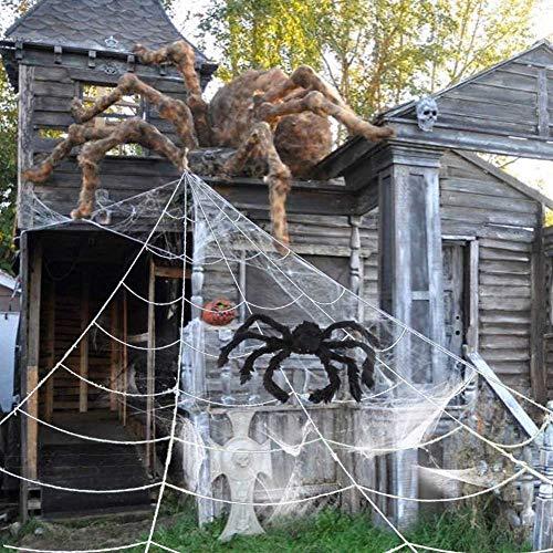 Giant Spiders Halloween Decor Halloween Outdoor Decorations Outdoor Halloween Halloween House