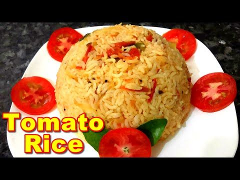 Tasty Tomato Variety Rice Recipe In Tamil