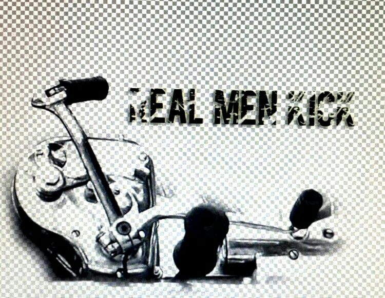 Real men kick #enfield #quotes