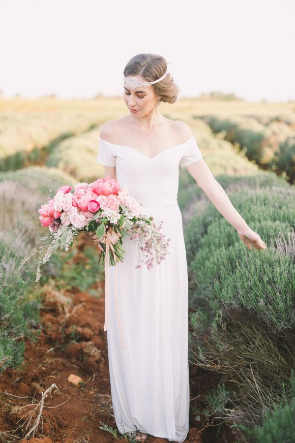 Contemporary Elopement Complete With An Off The Rack Gown You Need To Own Romantic Wedding Inspiration Bride Wedding