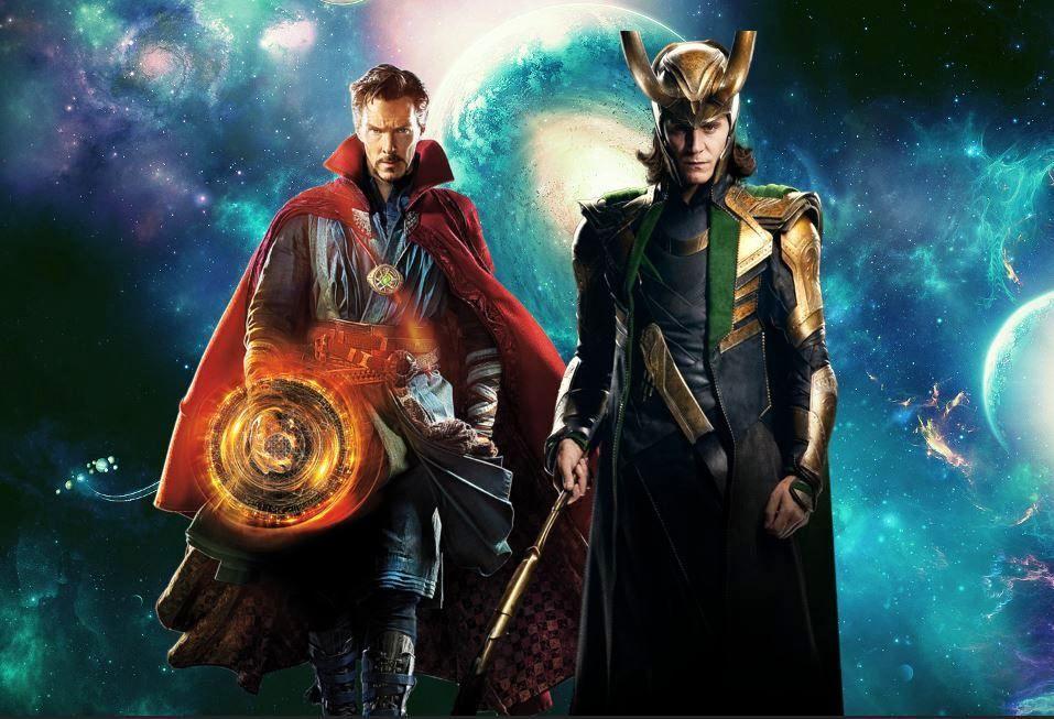 Doctor Strange Marvel Movie Wallpapers Widescreen Cinema: Loki And Doctor Strange My Wallpaper