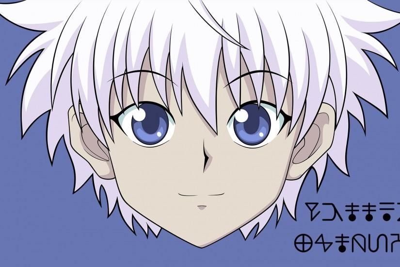 Another Wallpaper I Made (This time with Killua!) (con