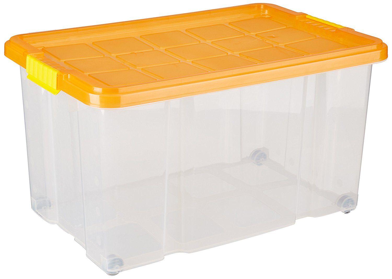 Unimet 15 Eurobox mit Deckel, farblich sortiert, 15 X 15 X 15
