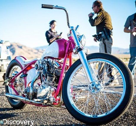 From Fast and Loud! Love this bike!