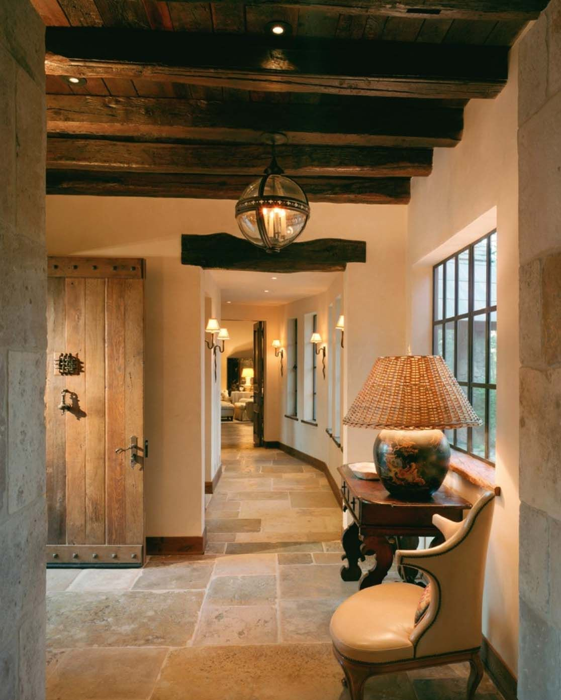 Photo of Northern California mountain retreat evokes a European country home