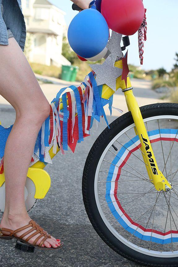 Fourth of july bike decorating ideas fourth of july for Bike decorating ideas