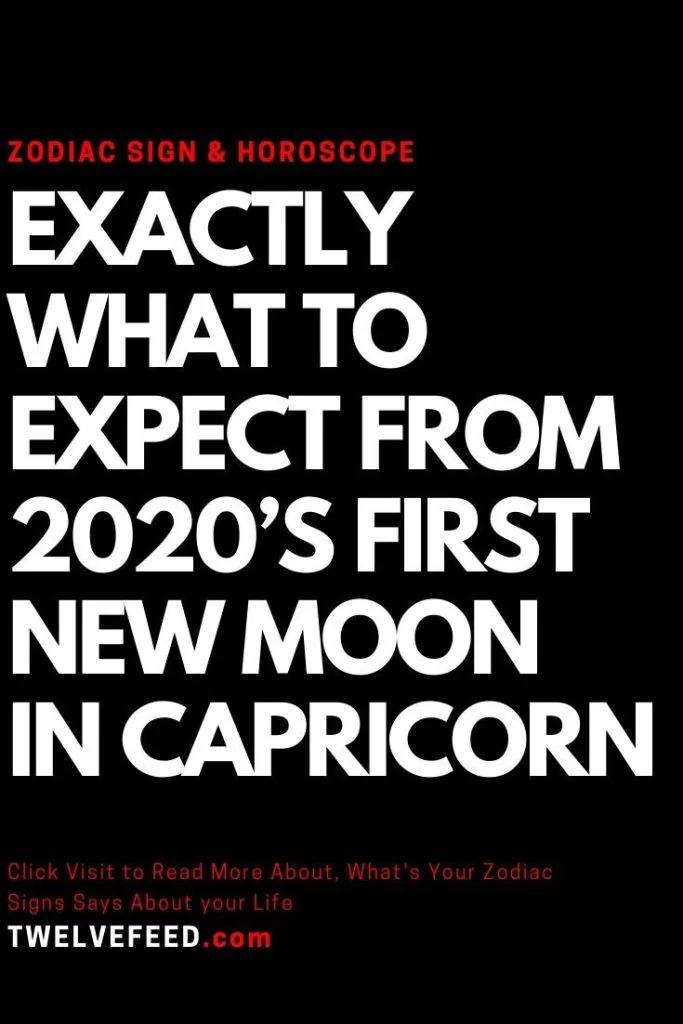 Exactly What To Expect From 2020's First New Moon InCapricorn – Twelve Feeds   #ZodiacSigns #Astrology #horoscopes #zodiaco #female #love #DailyHoroscope #Aries #Cancer #Libra  #Taurus #Leo #Scorpio #Aquarius #Gemini #Virgo #Sagittarius #Pisces #zodiac_sign #zodiac #quotes #education  #entertainment #AriesQoutes #CancerFacts #LibraFacts #TaurusFacts #LeoFacts #ScorpioFacts #AquariusFacts #GeminiFacts  #VirgoFacts #SagittariusFacts #PiscesFacts