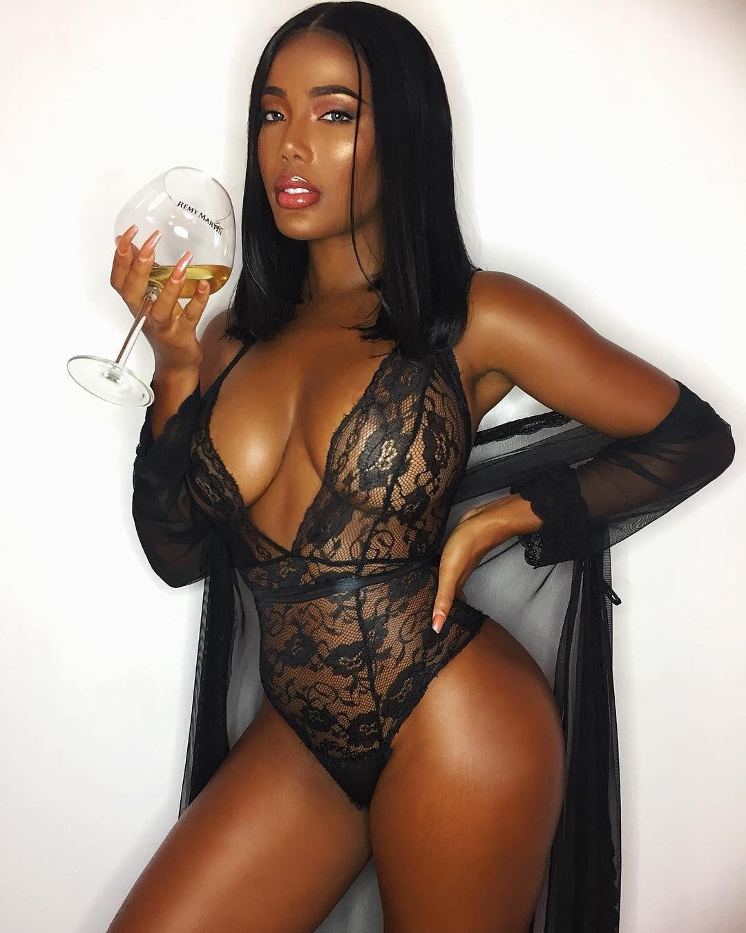 Beautiful Black Women By Ben Franco On Monifa Jansen  I -1222