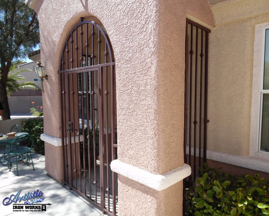 Wrought Iron Porch Enclosure Wrought Iron Entryways In