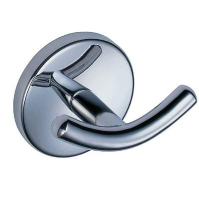 Glacier Bay Dorset Double Robe Hook In Chrome B2541101cp At The Home Depot