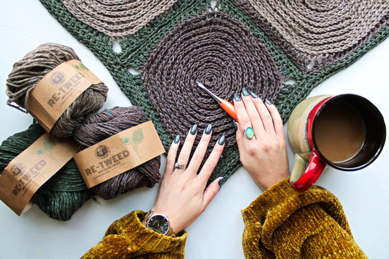 Beckett Woodland Baby Blankie - Free Crochet Pattern | Free ...