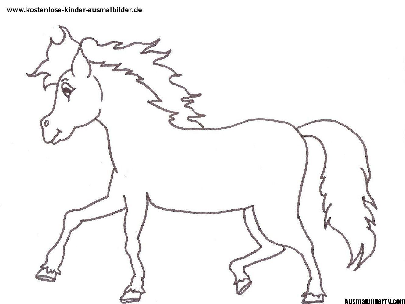 Ausmalbilder Kindergarten Malvorlagen Pferde Ausmalbilder Pferde Ausmalen