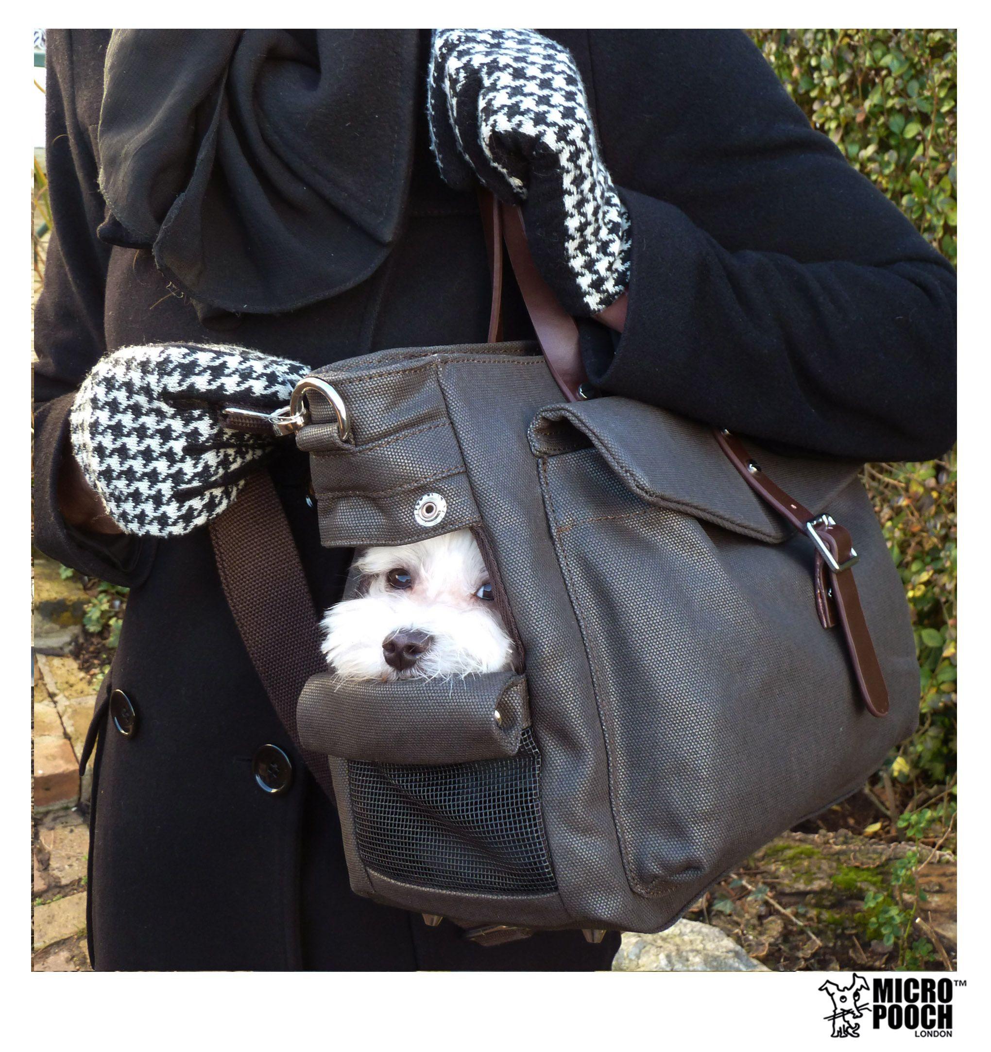 fa4bf463c8c2 Dog Handbag. The 3-way Tote Dog Carrier / Bag / Purse by MICRO POOCH. Designer  Luxury Pet Travel Bag.