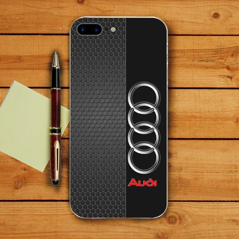 Audi logo style case Cover For iPhone 5 6 7 8 S plus XS