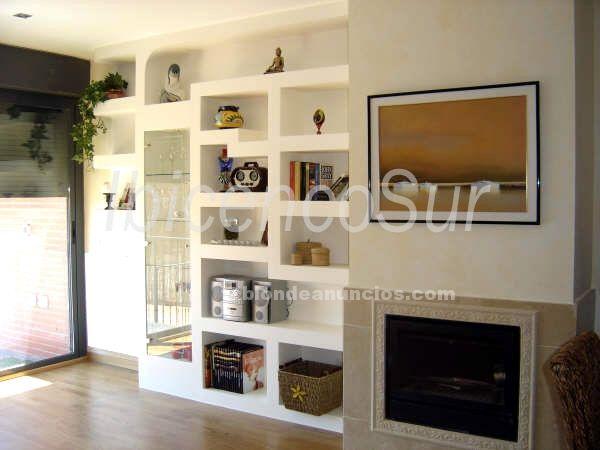 salon de o muebles de obra pladur pinterest