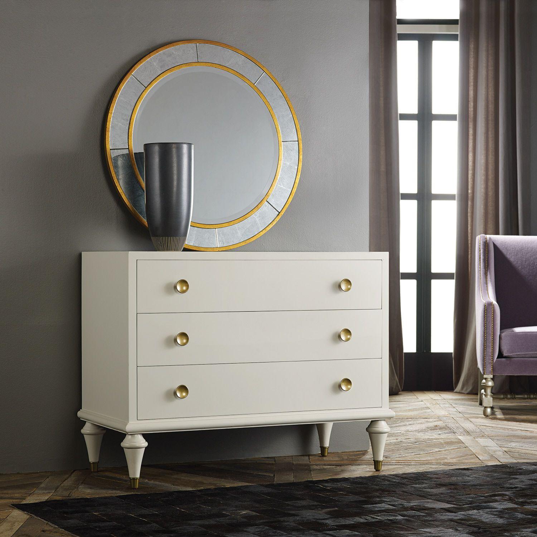 Mid Century Moderninteriors Bedroom: Modern History Home Retro Commode Ivory @Zinc_Door
