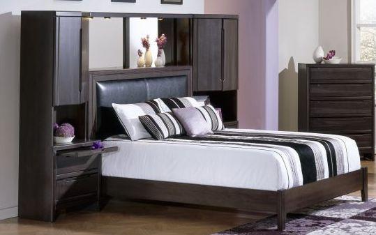 AAR Furniture, $2199, 630 4Pc Queen Pier Bed(Includes: R Pier,