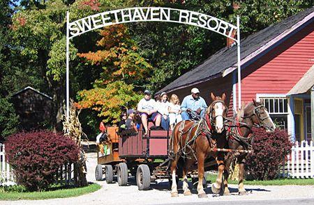 Sweethaven Resort Union Pier Michigan Cottage Rentals