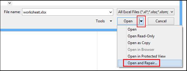 Fix Excel Cannot Open The File Excel Data Recovery Tools