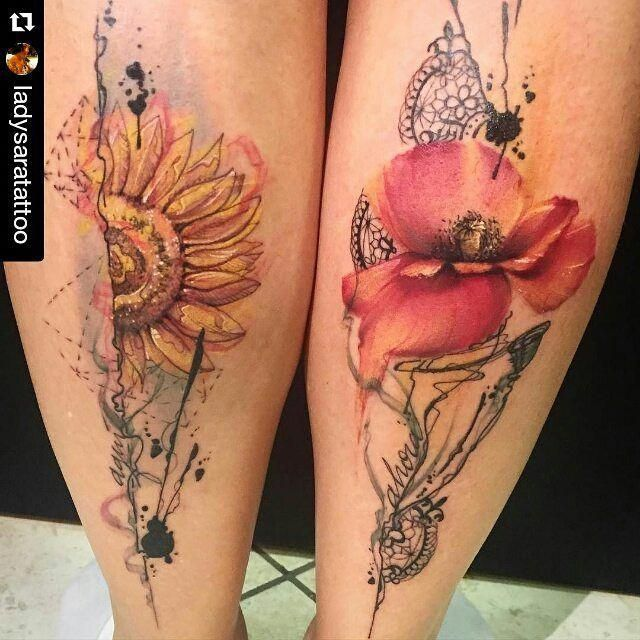 Pin By Kerry Eccles On Tattoos: Pretty Flowers …