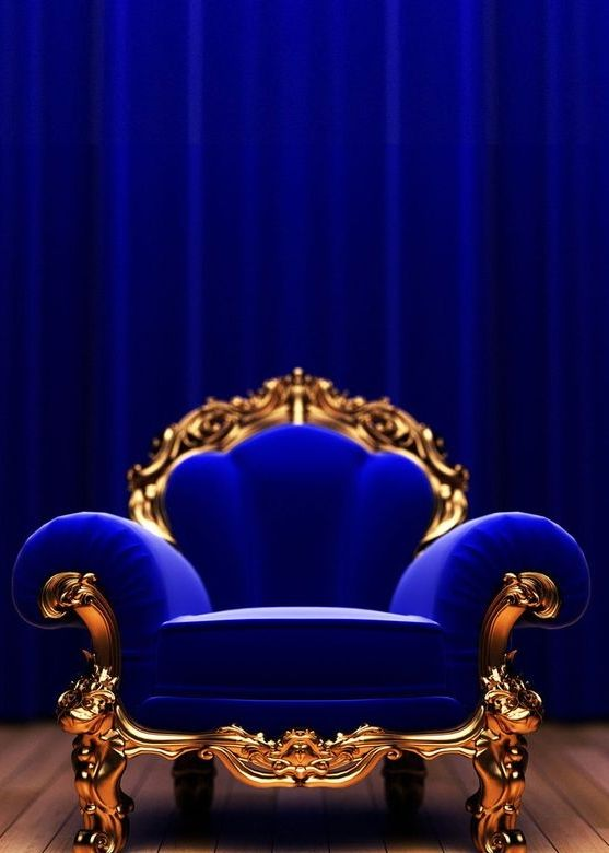 Best Royal Blue Velvet Gold Chair Blue Sofa Royal Blue And 400 x 300