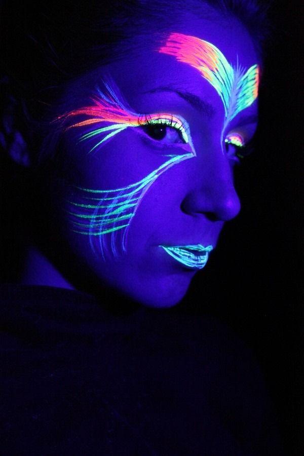 ad8403e71 Tinta Líquida Fluorescente 6 Cores Cítricas - Neon Facial - R  26