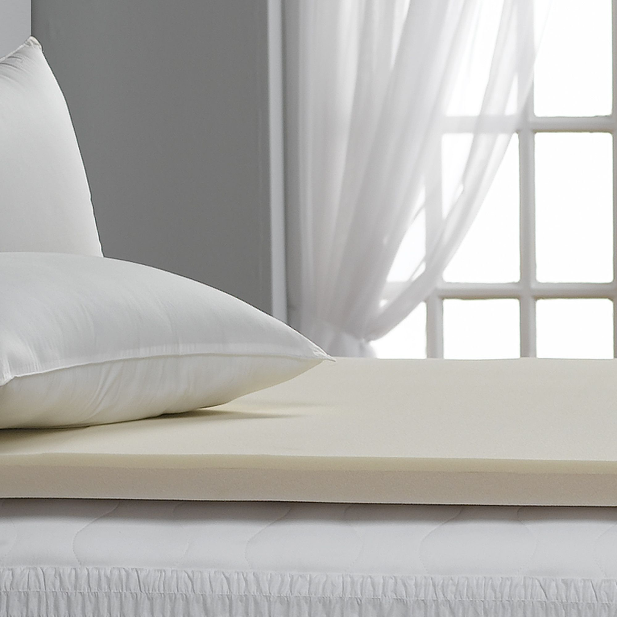 Bed Bug Resistant 2 Memory Foam Topper Products Pinterest