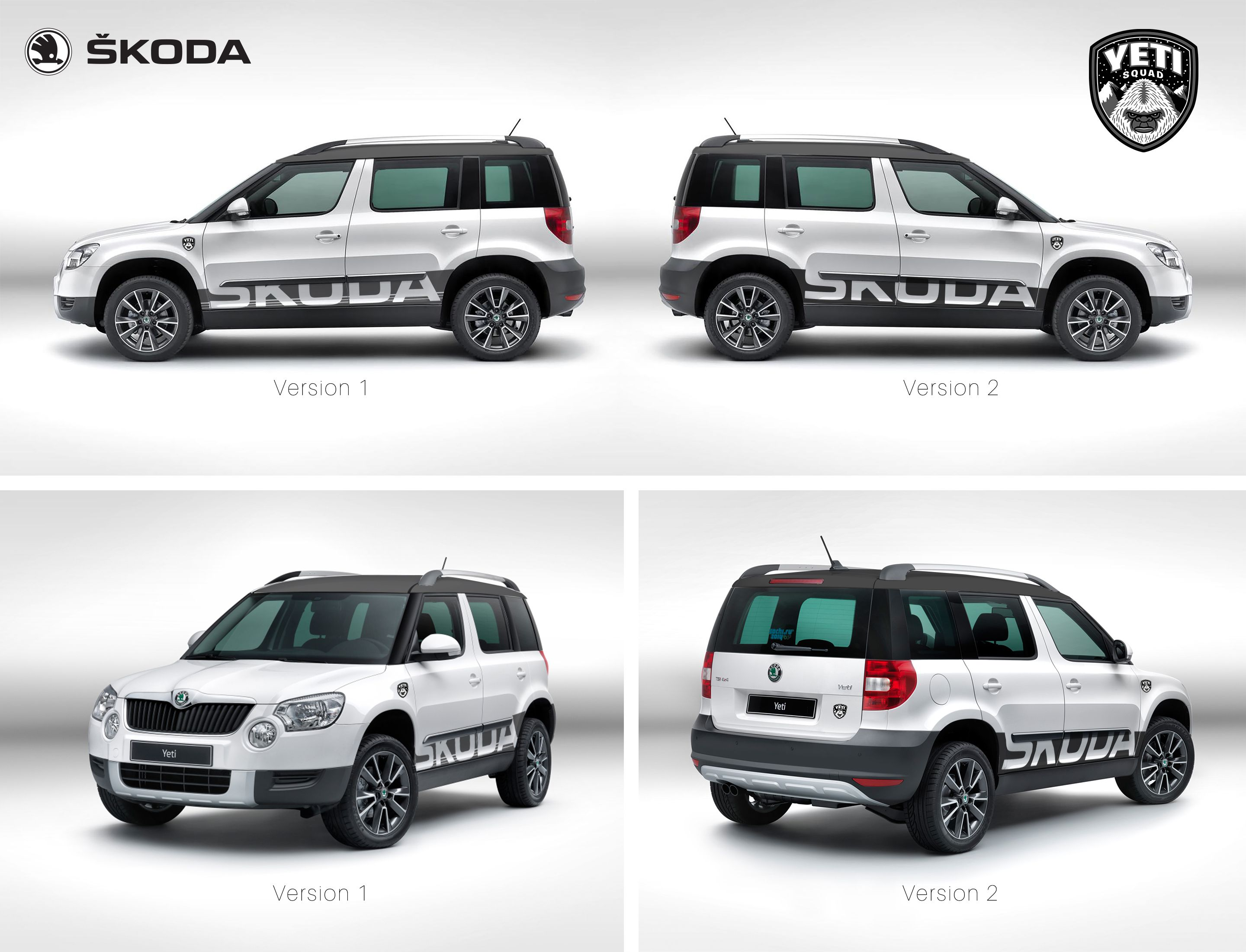 Skoda Yeti Custom Skoda Yeti Skoda Cars And Motorcycles
