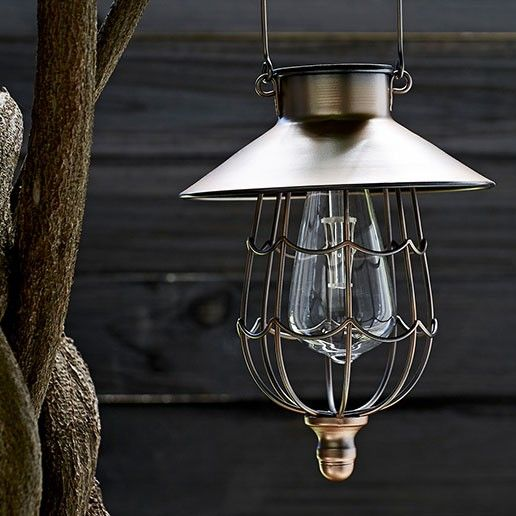 Outdoor String Lights John Lewis: John Lewis Solar LED Hanging Lantern