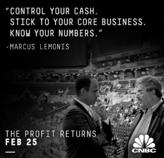 Such Great Business Advice From The Profit Marcus Lemonis